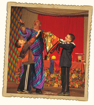 New Jersey Magic Show for kids by Taubenslag Productions