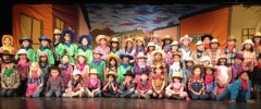 Cast of Pied Piper's Wild West Show