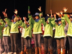 Pied Pipers in Pied Piper's Wild West Show