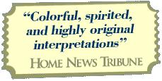 Colorful, spirited, and highly original interpretations